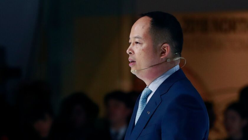 """""""We are well prepared to face the challenges in the U.S. market,"""" GAC Motor President Yu Jun says."""