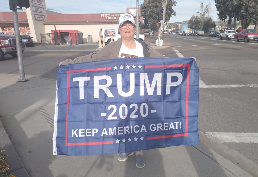 Copy - Linda Garinger Holding Trump Sign.jpg