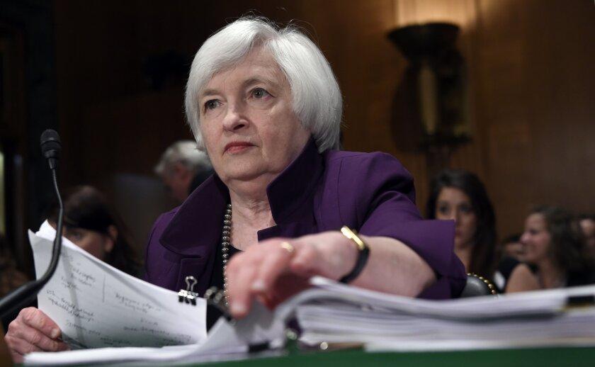 Janet Yellen Federal interest rates