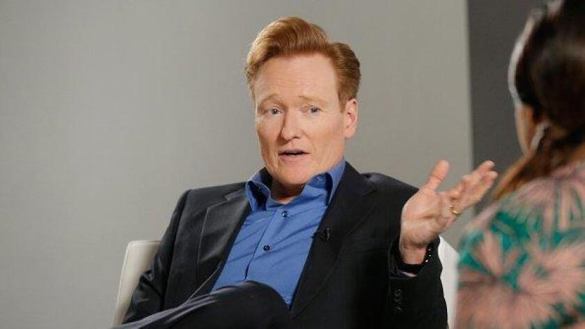 Conan O'Brien announced he will host his show from Comic-Con this summer. (/ Getty Images)