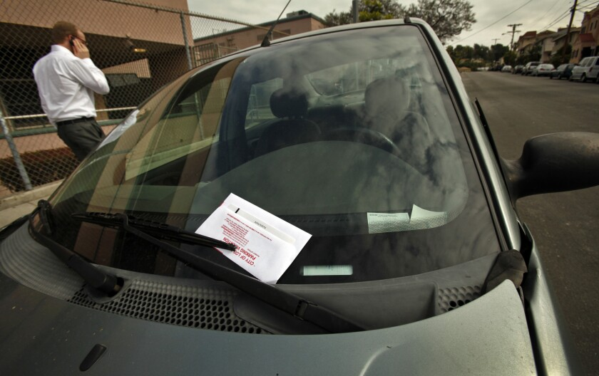 Glendale meter maids won't be handing out tickets to cars parked in residential areas during street-sweeping hours throughout at least the end of March. It's one of several emergency actions city officials have taken as a result of the coronavirus that was first confirmed to have arrived in the city on Monday.