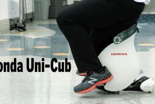 Honda Uni-Cub: The future of mobility?