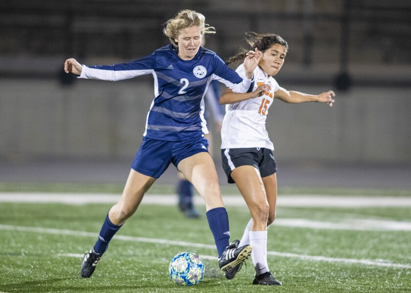 Newport Harbor girls' soccer rallies to beat Huntington Beach