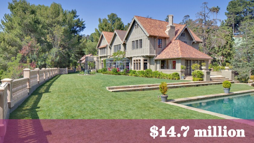 The Harvey Mudd estate, designed by noted architect Elmer Grey in 1922, has sold in Beverly Hills for $14.7 million.
