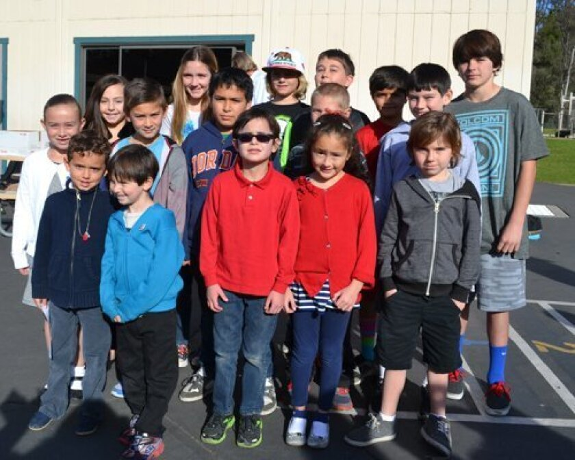 Front row: Jack Renda, Grant Waldman, Flynn Tardif, Luna Espinosa and Gabriel Wilson; Middle row: Kathleen Day, Jasper Jain, Edgar Cervantes, Jake Reese and Aidan Collins; Back row: Gigi Carpenter, Maddie Miller, Nicholas Parise, Joseph Phillips, Arsh Kalthia and Cole Singer; Not pictured: Patricio