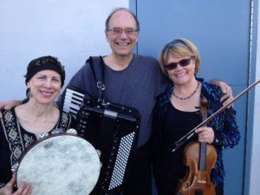 Dromia will perform Balkan folk music on Aug. 27 at the Carmel Valley library.