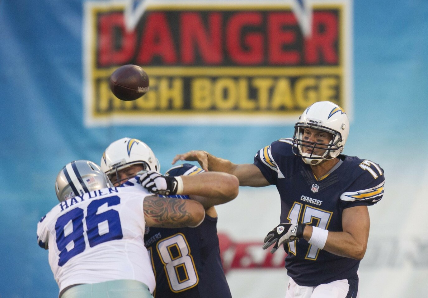 Chargers - Cowboys 8/7/2014