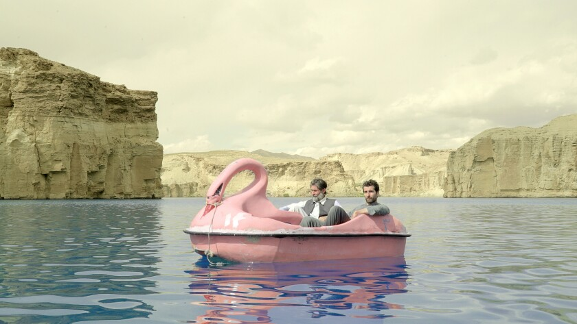 Sher Alam Miskeen Ustad and Sam Smith in 'Jirga'