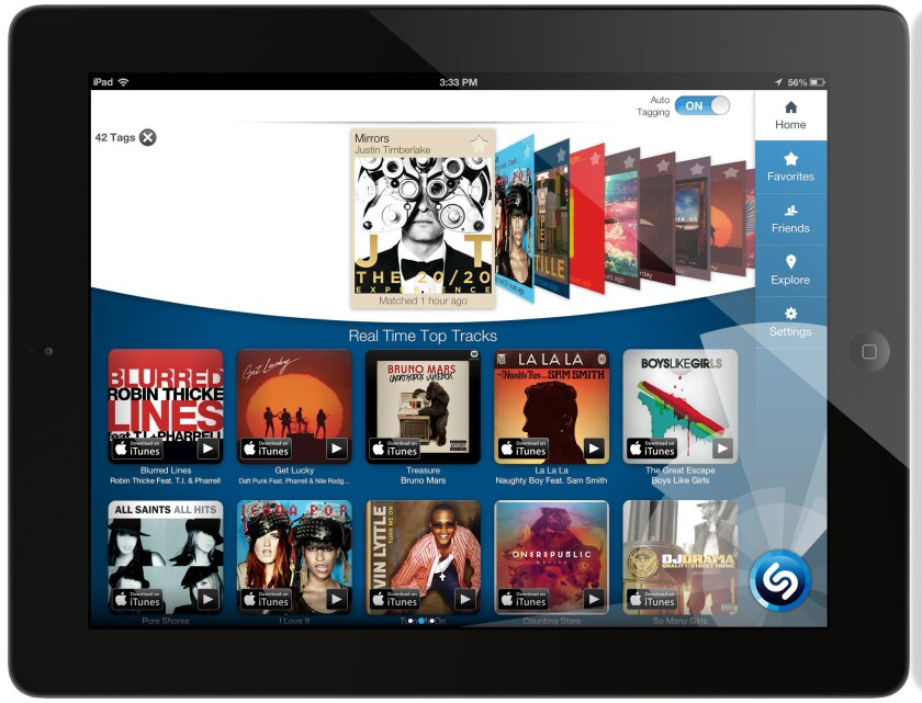 Shazam revamps iPad app, adds auto-tagging feature