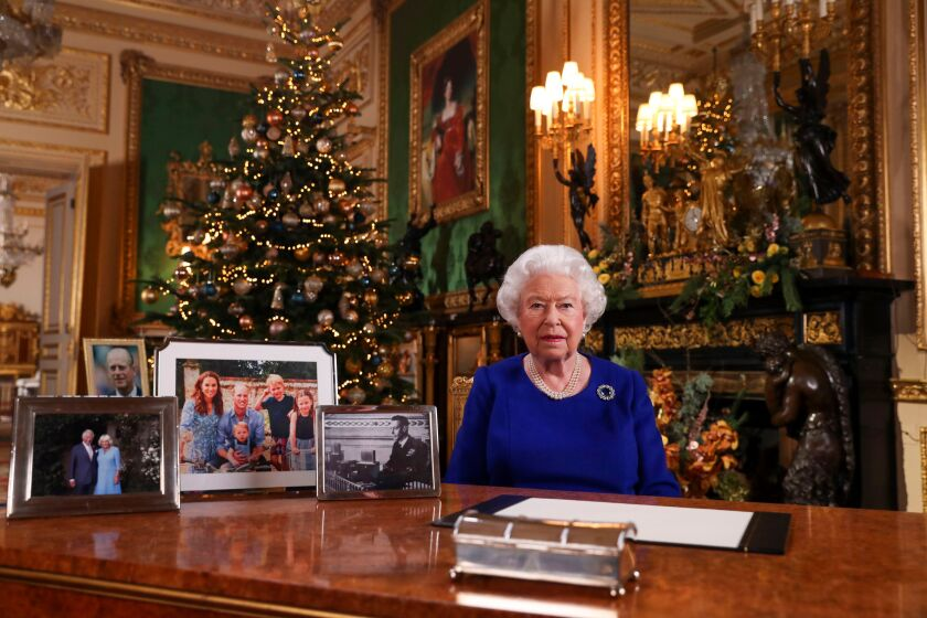 Queens Christmas Broadcast 2020 United States In Queen Elizabeth's Christmas address, more than a touch of royal