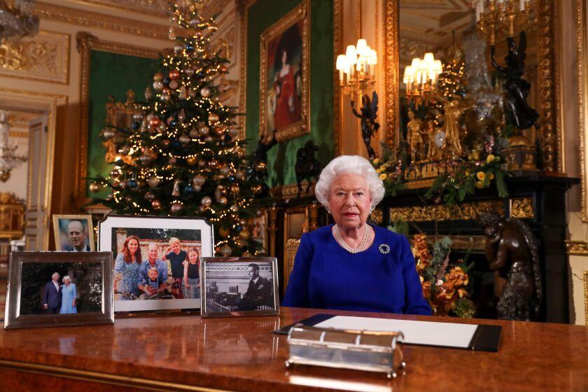 Queen's Christmas message, Windsor, United Kingdom - 24 Dec 2019