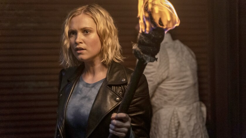 """Eliza Taylor plays the lead character, Clarke, in """"The 100."""""""