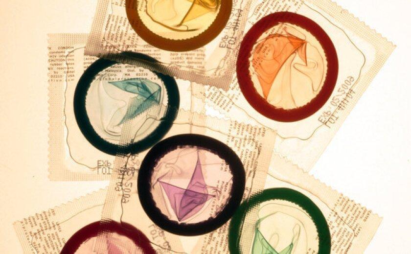 Condoms in adult films