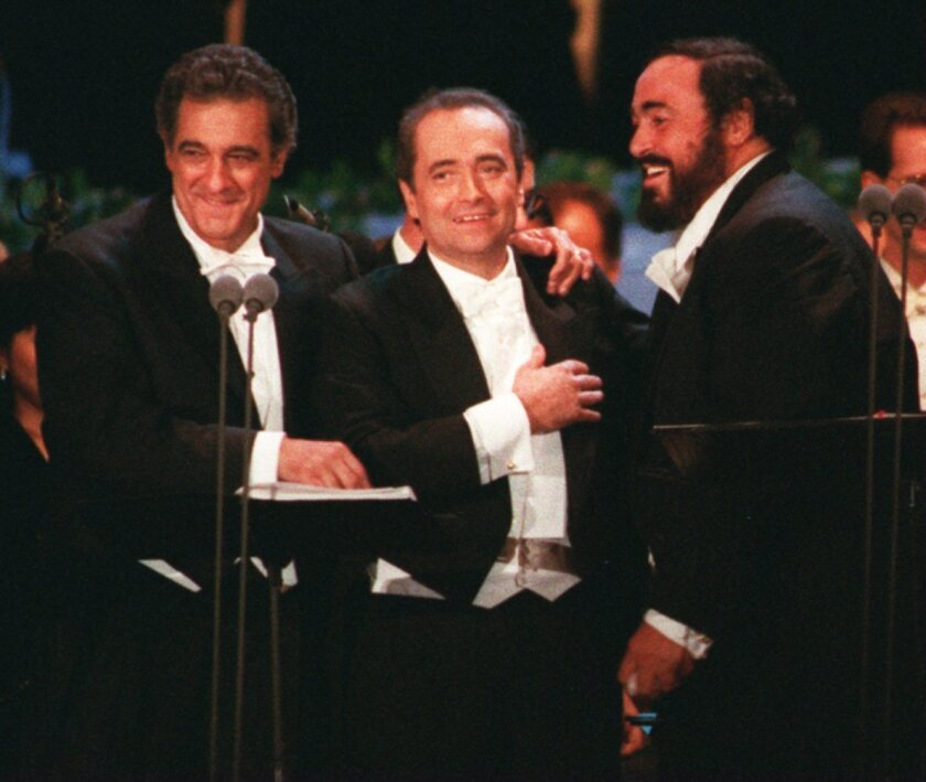 A look back at the Three Tenors concert at Dodger Stadium ...