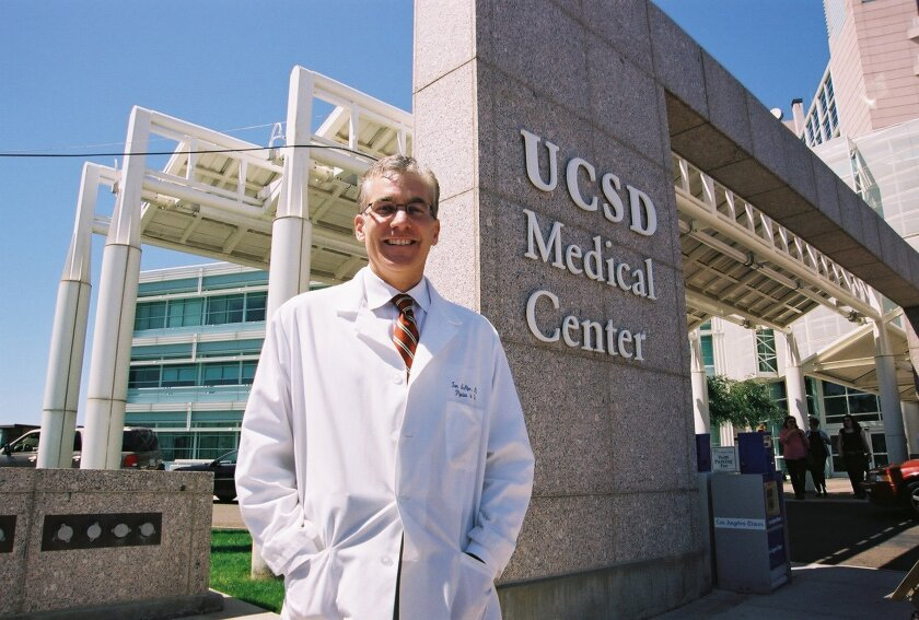 Dr. Thomas McAfee, interim chief executive for the UC San Diego Health System.