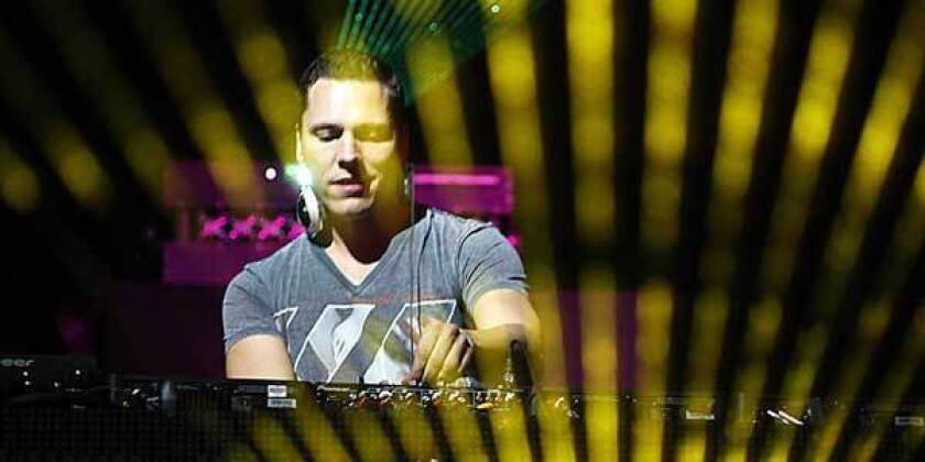 Tiesto performs at the 2010 Coachella Valley Music and Arts Festival.