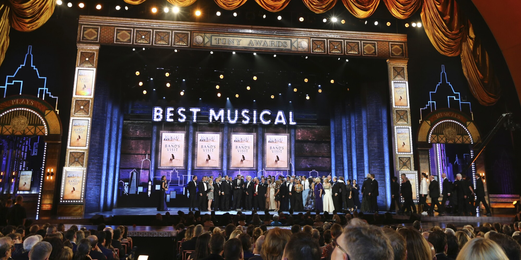 Tony Awards 2018: 'The Band's Visit' leads near-sweep with 10 wins; 'Harry Potter' takes best play