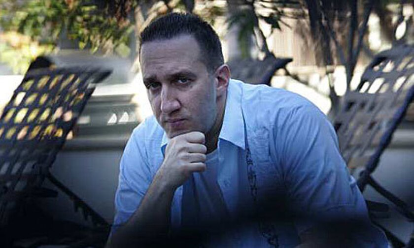 """<b>TERRITORIAL:</b> Danny Hoch's one-man show """"Taking Over"""" will be at the Kirk Douglas Theatre."""