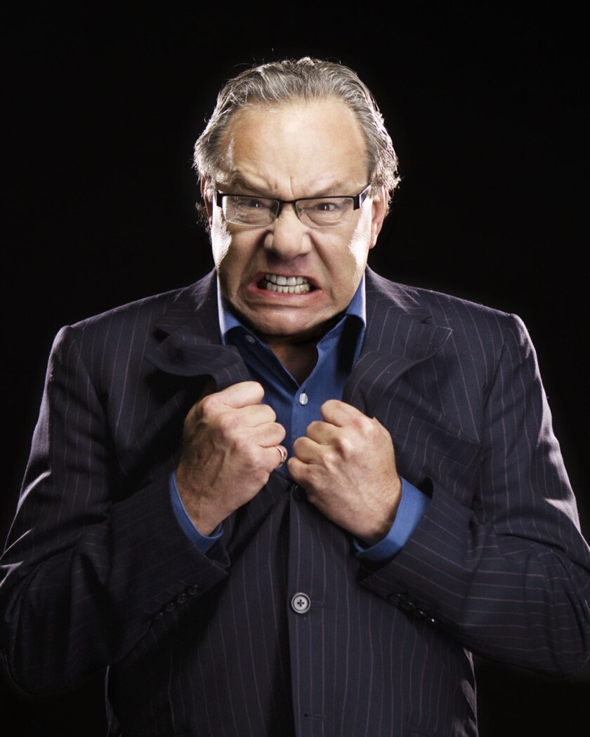 A photo of Lewis Black by Clay McBride