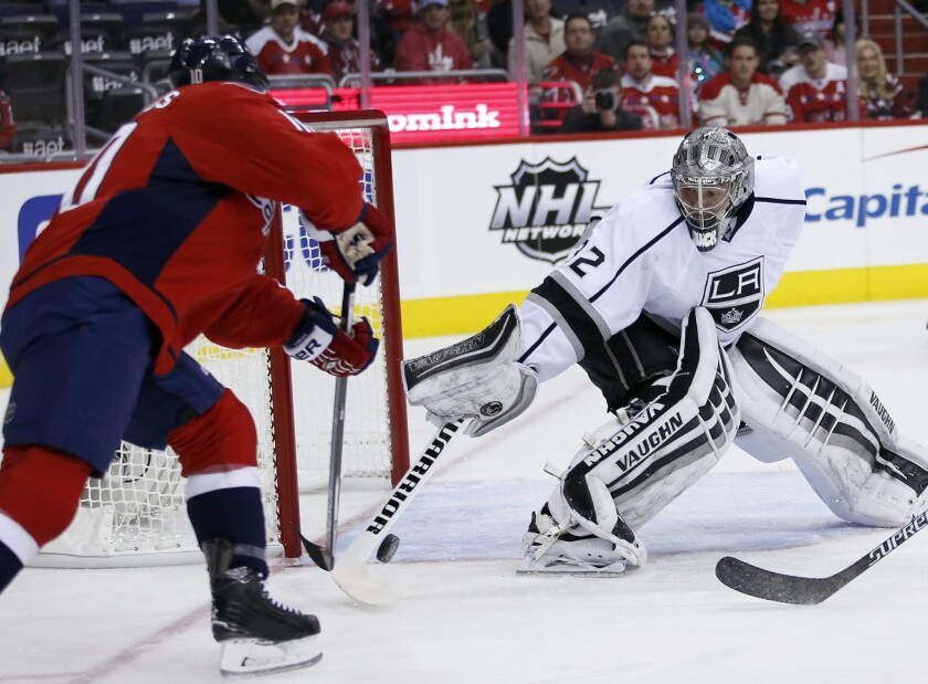 Late goal dooms Kings in 3-1 loss to Washington Capitals