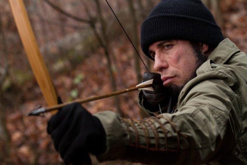 "John Travolta as ""Emil Kovac"" in ""Killing Season."""