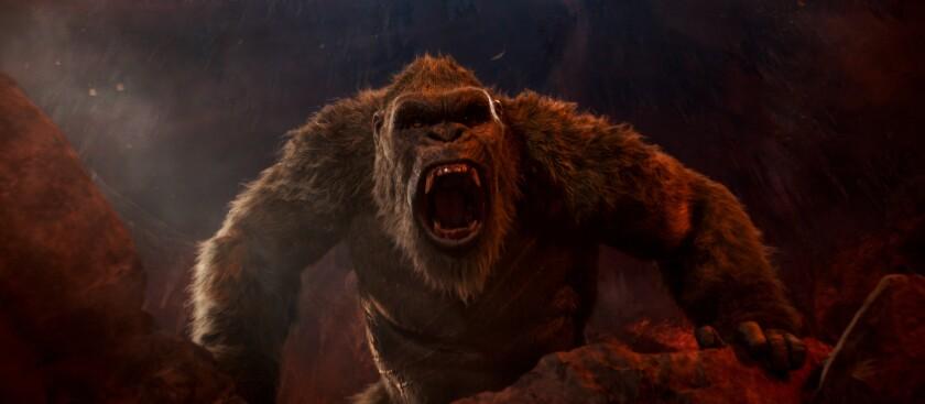 """En esta imagen proporcionada por Warner Bros. Entertainment una escena de """"Godzilla vs. Kong""""."""