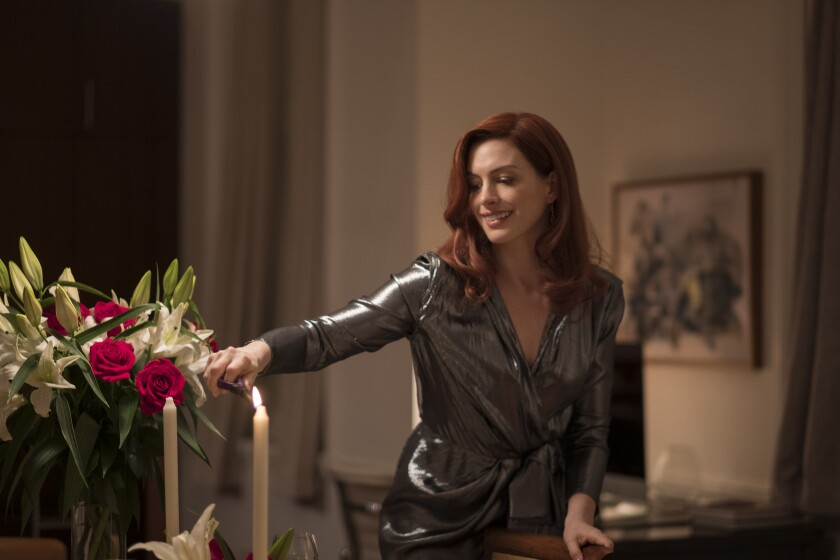 "Anne Hathaway in an episode of ""Modern Love"" on Amazon."