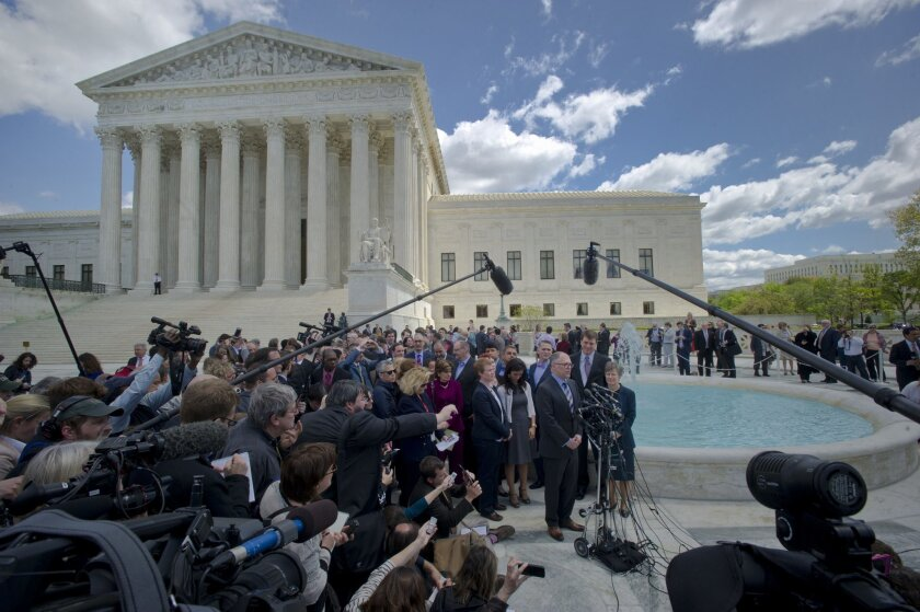 Supreme Court's gay marriage decision