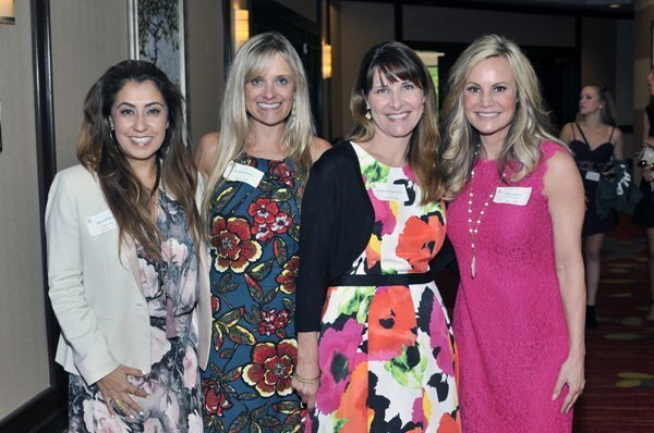 2014 Tea Committee members Mary Behnam, Kirsten Cooper, Chair Stephanie Dumbrell, Kimberly Janese