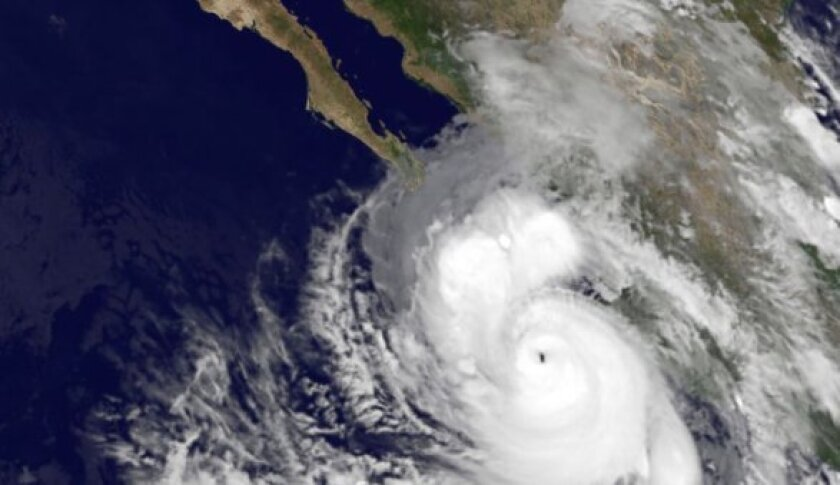 Odile evolved into a category four hurricane on Sunday.