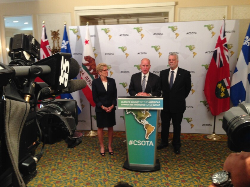 Jerry Brown in Toronto