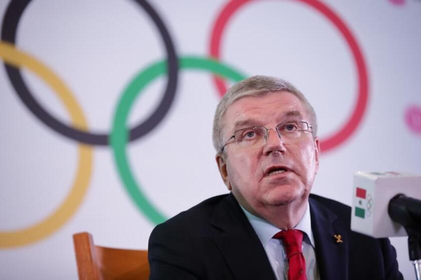 El alemán Thomas Bach, presidente del Comité Olímpico Internacional (COI). EFE/Archivo