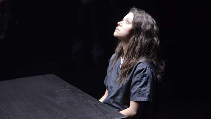 """Tatiana Maslany in """"Orphan Black"""" on BBC America."""