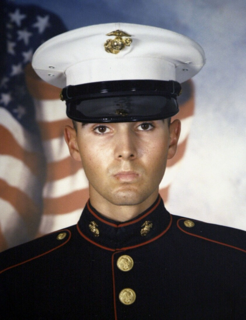 Lance Cpl. Antonio Sledd was killed in a terrorist attack off Kuwait in October 2002. This week, the Pentagon announced that a drone strike has killed one of the leaders of that attack.