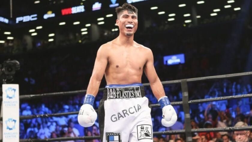 Mikey Garcia moving toward a summer fight at Staples Center - Los Angeles  Times