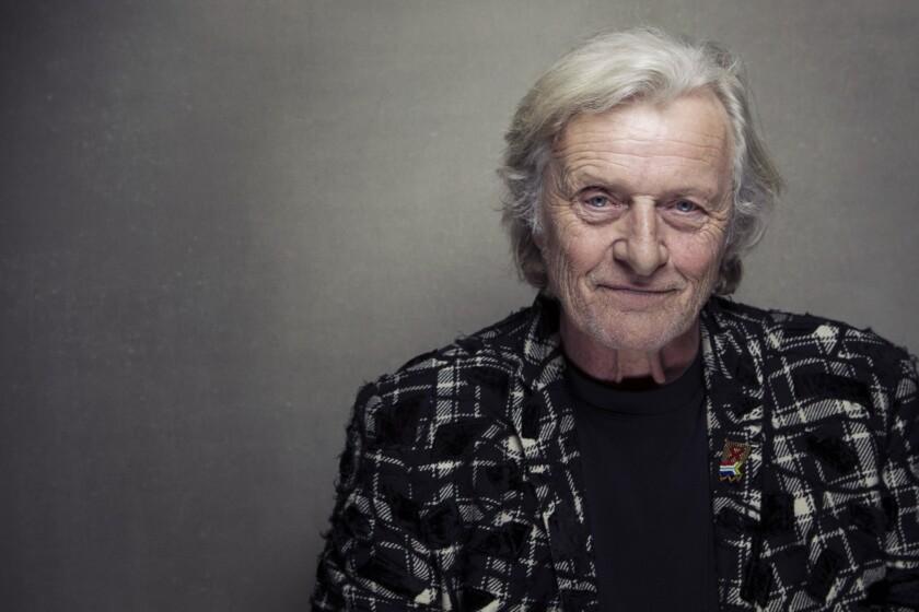 Dutch actor Rutger Hauer.