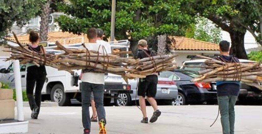 Greg Spencer and  Woodbury Roland, Jordan Mellul and Austin Mann head toward Los Angeles. Photo: Sharon Hinckley