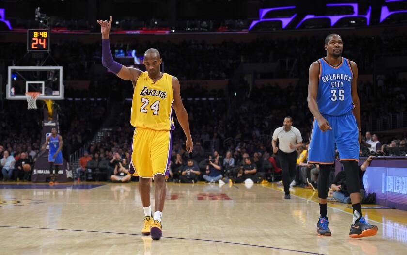 NBA trends: Kobe Bryant leading in All-Star votes