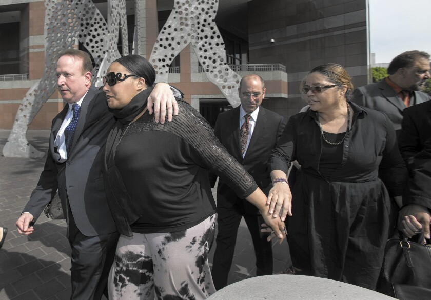 Nona Gaye leaves courtroom