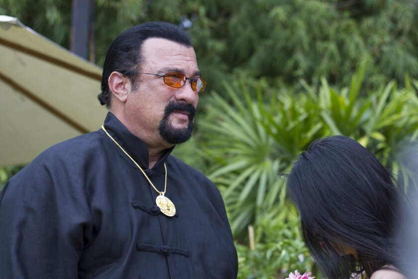 """Steven Seagal in the movie """"Asian Connection."""""""