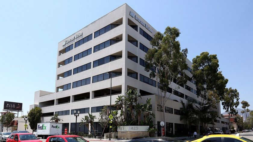 The office building on the corner of Jackson Street and Colorado Street in Glendale.