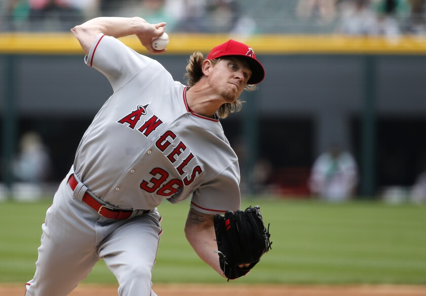 Jered Weaver allows one run in Angels' 3-2 win over the Chicago White Sox