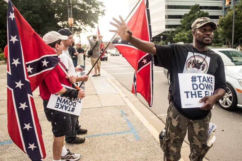 South Carolina debates Confederate flag