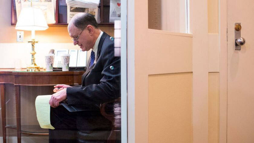 Rep. Brad Sherman, seen in 2015, said no one reported a senior aide's alleged behavior to him or other staff members.