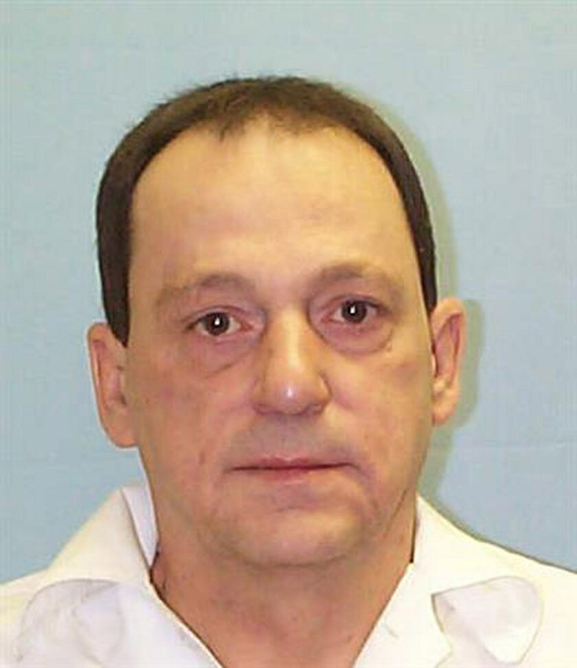 This undated photo provided by the Alabama Department of Corrections show inmate Donnis Musgrove, who is asking a federal judge to overturn his murder conviction. Musgrove, 67, contends prosecutors used falsified evidence during his 1988 trial for the gunshot killing of Coy Eugene Barron. (Alabama Department of Corrections via AP)