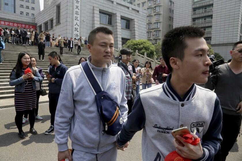 Same-sex marriage, China