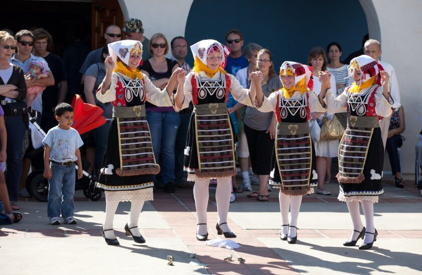 Greek Festival is Saturday and Sunday in Cardiff.