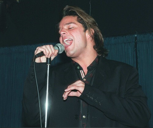 Ricky Martin, the most successful Menudo alum, in 1995.