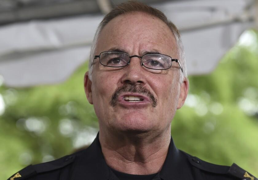 J. Thomas Manger, jefe de policía durante 15 años en el condado Montgomery, Maryland