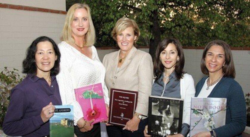 Mary Liu, Sophia Alsadek, Joan Ryan, Judy Rowles, Susan Appleby (Photo: Jon Clark)